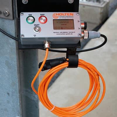 Vollständig angebrachte Verladepumpe an einem Soleerzeuger B4