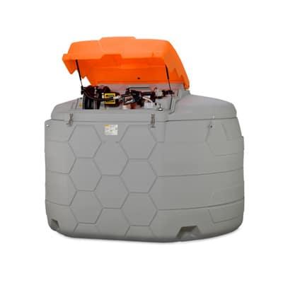 Vollständig aufgebauter Solelagertank aus PE